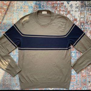 Club Monaco Color Blocked Tech Sweater